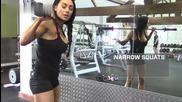 Клекове с модела Нина Йоана