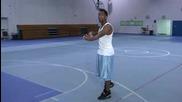 Improving Basketball Skills Basketball 360 Reverse Layup.