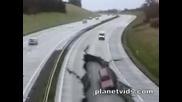 Земетресение На Магистрала