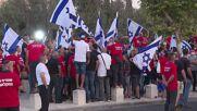 Israel: Farmers protest in Jerusalem against agricultural reform