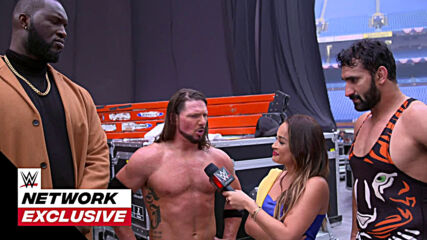 Jeet Rama speechless after AJ Styles pep talk: WWE Network Exclusive, Jan. 26, 2021
