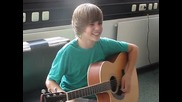Justin Bieber visits Bravo (one time & One less lonely girl)