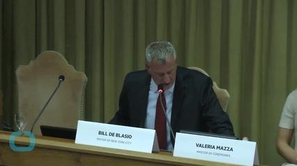 Mayor Bill De Blasio Pledges to Cut New York Carbon Emissions by 40% by 2030