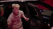 Ауди А8 без шофьор вози актьора Даниел Брюл в Берлин