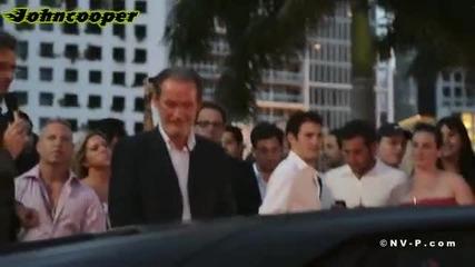 Матово черно Lamborghini Aventador Lp700 в Маями