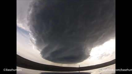 5_18_14 Wright to Newcastle, Wy Supercell Time-lapse