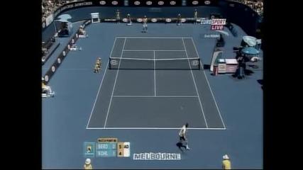 """Победи за Родик и Бердих на """"Australian Open"""""""