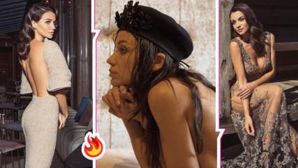 Диляна Попова разпали фантазиите и на мъжете, и на жените с горещ кадър! Няма място за въображение