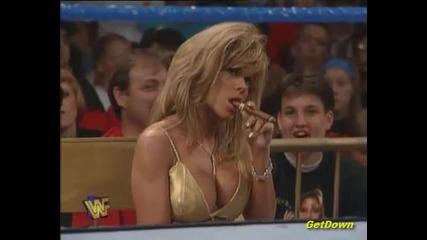 Goldust w/ Terri vs. Ahmed Johnson (wwf Intercontinental Championship) - Wwf King Of The Ring 1996