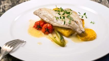 Вкусът на Истрия с Давид Скоко | Филе от ципура с печена полента и чери домати