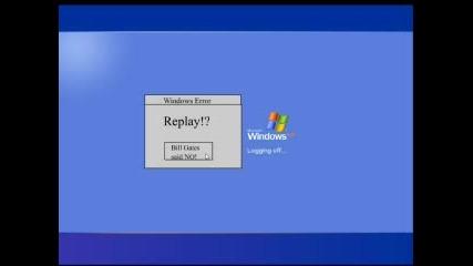 Малка пародия на Windows XP