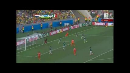 Мондиал 2014 - Холандия 2:1 Мексико - Холандия напред след страхотен късен обрат!