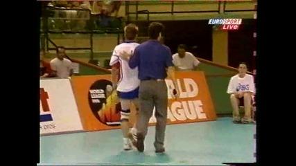 Remi Gaillard - на световното по волейбол