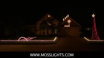 Невероятно Светлинно Коледно Шоу !
