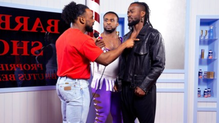 "New Day recreates the ""Barbershop Window Incident"""