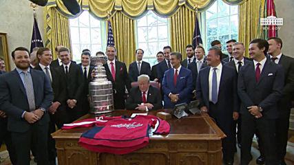 USA: Ivanka is 'tremendous fan' of NHL star Ovechkin - Trump