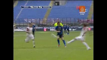 Пореден феноменален гол на Златан Ибрахимович ! Интер - Реджина 3:0 22.03