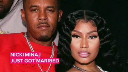 Did Nicki Minaj just MARRY her boyfriend Kenneth Petty?