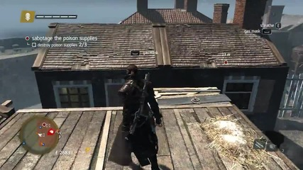 Assassin's Creed Rogue - 100% Sync [sequence 3 - Memory 4]