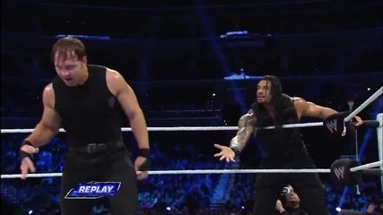 Cm Punk & The Usos vs. The Shield - Six-man Tag Team Match- Smackdown, Jan. 3, 2014