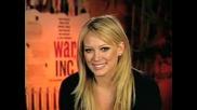 Hilary Duff Говори За Филма War, Inc. (БГ Субс)