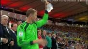 Награждаване на световните шампиони от Германия