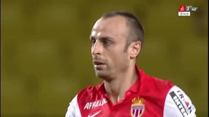 Димитър Бербатов с гол за Монако срещу Ланс
