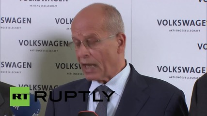 Германия: Мениджърът на Volkswagen Мартин Винтеркорн подаде оставка