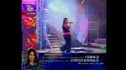 Изпълонението на ДЕНИЦА което я спаси от отпадане от music idol - 14.05.08 HQ