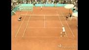 +16 Секси тенесистки си разменият тениските след мача