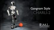 Изумително! Робот прави Gagnam Style