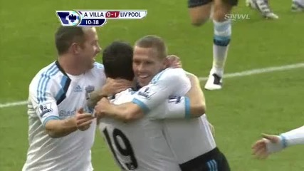 Aston Villa 0-1 Liverpool ( Bellamy )