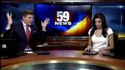 Смях ... Водещ на новините танцува яко