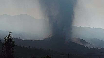Spain: La Palma volcano continues to spew lava a week after eruption begins