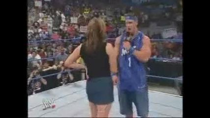 Wwe - John Cena Raps For Stephanie [from www.metacafe.com] (2)