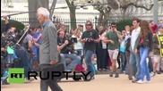 USA: First look at 'Snowden'- Joseph Gordon-Levitt spotted on set