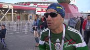 Russia: Fans share in the highs and lows of football after Portugal defeat Russia