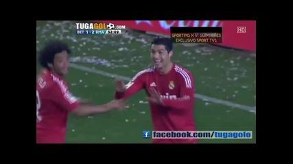 Бетис-реал Мадрид 2:3 Супер мач !!
