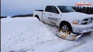 Страхотен снегомобил • тест-драйв !