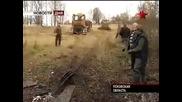 Вадене на влекач / Сталинец / от блато