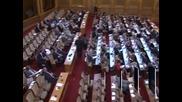 Парламентът ще разгледа върнатите от президента текстове в закона за съдебната власт