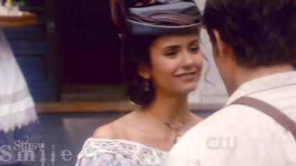 Katherine ; Stefan ; Elena