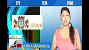 (tpc, Crwe, Teva) Crwenewswire Stocks to Watch