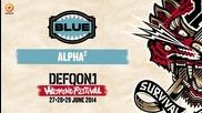 Цветовете на Defqon.1 микс | Синьо