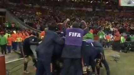 World Cup Final - Холандия - Испания 0:1 - Победният гол на Иниеста