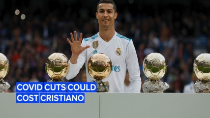 Ronaldo's salary is on the chopping block thanks to Covid-19