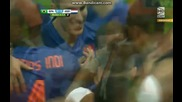 Бразилия 0:3 Холандия (бг аудио) Мондиал 2014