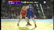 Владимир Дубов спечели сребърен медал от европейското по борба
