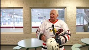 Canada: Stew Cockshutt is STILL tearing up the ice hockey rink at 86 years old!