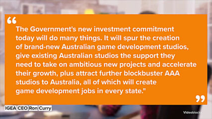 Australia embraces the gaming industry